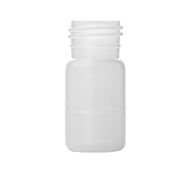 10 ml X 28 mm Round HDPE Bottle EBM