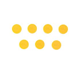 20 mm Flip off Seal Logo