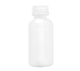 60 ml X 28 mm Round HDPE Bottle 12 g EBM