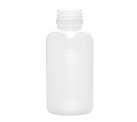 100 ml X 28 mm Round HDPE Bottle 16 g EBM
