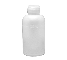 100 ml X 28 mm Round HDPE Bottle 19 g EBM