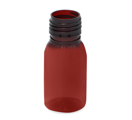 30 ml X 25 mm Round/Dome PET Bottle 8 g