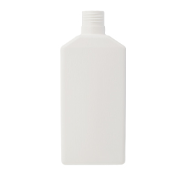 600 ml X 32 mm Flat HDPE Bottle