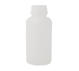 60 ml x 28 mm Neck Round HDPE Bottle with 50 ml Marking EBM