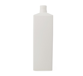1400 ml x 32 mm Square HDPE Bottle