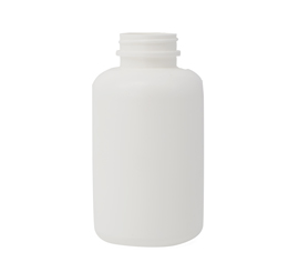 390 ml X 38 mm HDPE Container Plain/Logo