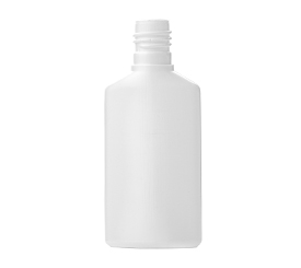 60 ml Flat HDPE Shampoo Bottle