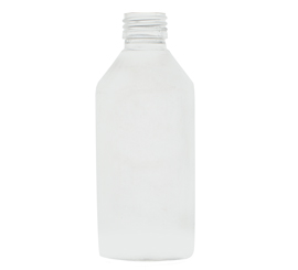 200 ml X 25 mm Round Milky White PET Bottle