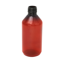 200 ml X 25 mm Round PET Bottle with more Lip Thickness