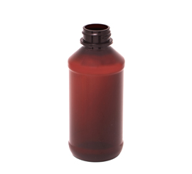 4 oz X 24 mm Round PET Bottle