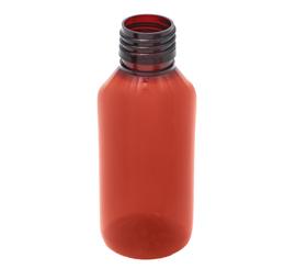 100 ml x 25 mm Neck Round  PET Bottle