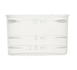 25 mm 10 ml Measuring Cup For Screw Cap