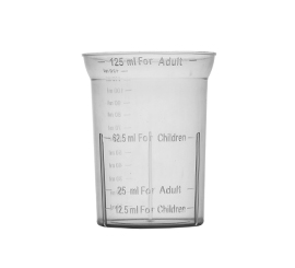 125 ml Measuring Cup Alkem Logo