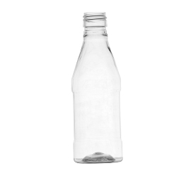 100 ml X 25 mm Square PET Bottle