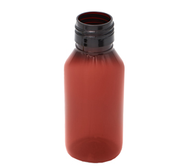 60 ml x 25 mm Neck  Round PET Bottle